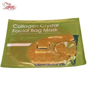 ماسک ورقه ای طلا و کلاژن گلد صورت مرطوب کننده و ترمیم عمیق پوست