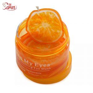 ماسک دور چشم پرتقال